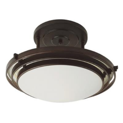 Trans Globe Lighting PL-2480 One Light 3-Step Flush Mount