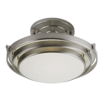 Trans Globe Lighting PL-2482-1 Energey Efficient - One Light 3 Step Semi-Flush Mount