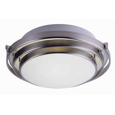 Trans Globe Lighting PL-2482 BN One Light Small Semi-Flush Mount