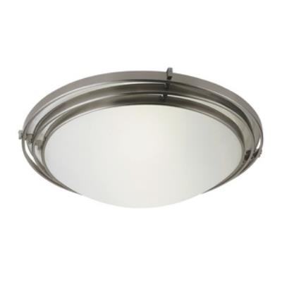 Trans Globe Lighting PL-2484 Energy Efficient - Two Light 3 Step Flush Mount