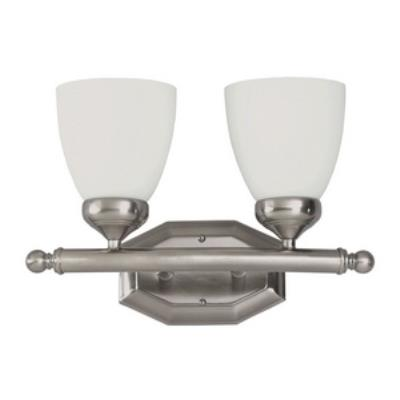 Trans Globe Lighting PL-2512 BN Tempo - Two Light Bath Vanity