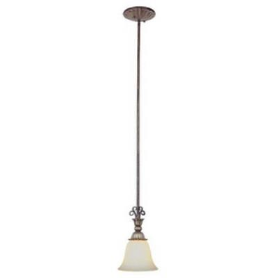 Trans Globe Lighting PL-2570 EBG One Light Drop Pendant