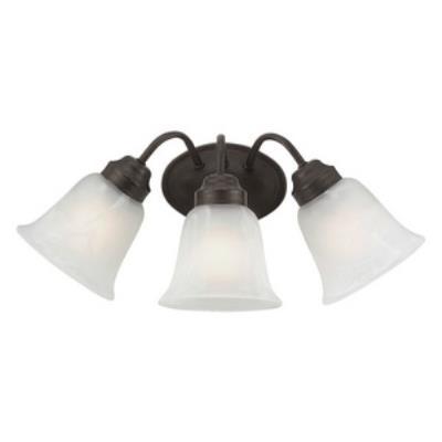Trans Globe Lighting PL-3106 Roanoke - Three Light Bath Bar
