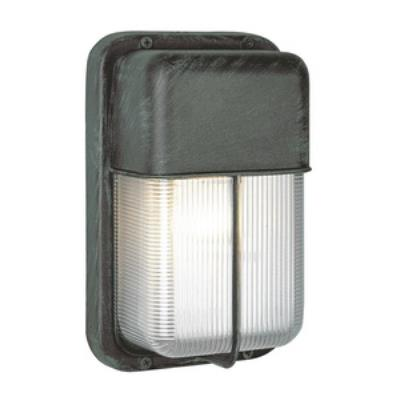 Trans Globe Lighting PL-41103 BK Metro - One Light Outdoor Bulkhead