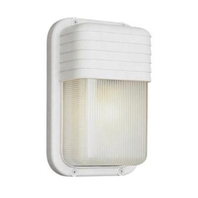 Trans Globe Lighting PL-41105 BK One Light Outdoor High Lashed Rectangle Bulkhead