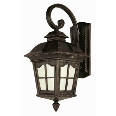 Trans Globe Lighting PL-5424 AR One Light Outdoor Large Wall Mount