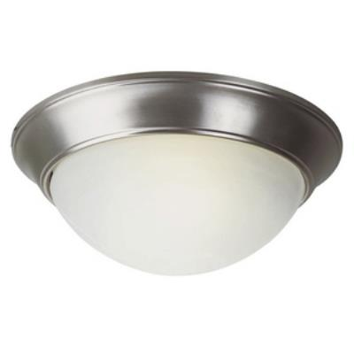Trans Globe Lighting PL-57700 BN One Light Flush Mount