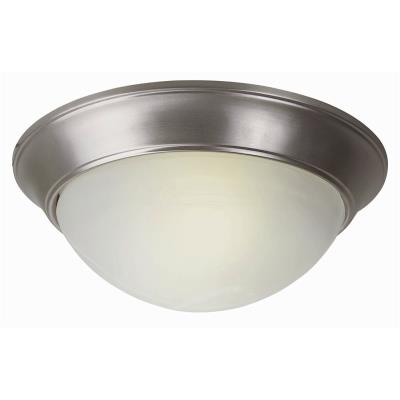 Trans Globe Lighting PL-57702 WH Three Light Flush Mount