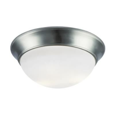 Trans Globe Lighting PL-57705 BN Three Light Flush Mount