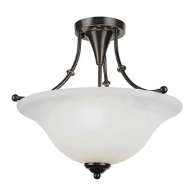 Trans Globe Lighting PL-6540 Payson - Three Light Semi-Flush Mount