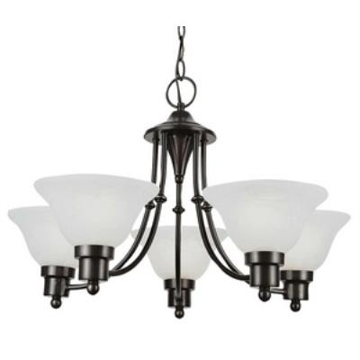 Trans Globe Lighting PL-6545 Payson - Five Light Mini-Chandelier