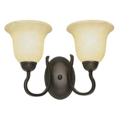 Trans Globe Lighting PL-8161 BN Farmhouse - Two Light Wall Sconce