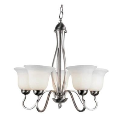 Trans Globe Lighting PL-8165 ROB Farmhouse - Five Light Chandelier
