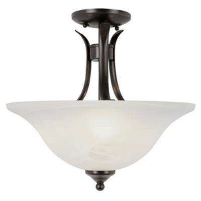 Trans Globe Lighting PL-9286 Ribbon Branched - Two Light Semi-Flush Mount