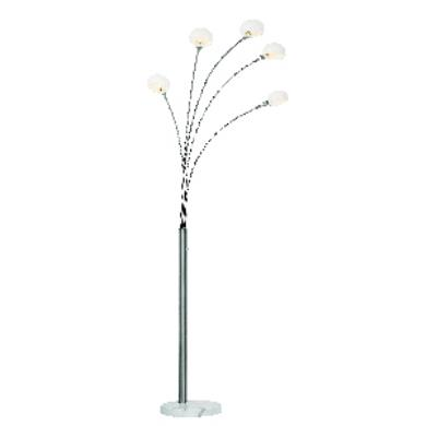trans globe lighting rtl 8826 five light arc floor lamp