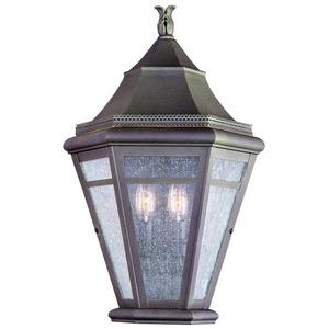 Morgan Hill - Two Light Outdoor Large Pocket Wall Sconce