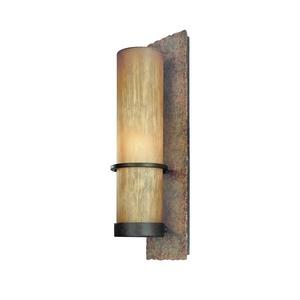 Bamboo - One Light Outdoor Large Wall Lantern