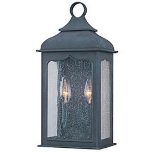 Henry Street - Three Light Outdoor Medium Wall Lantern