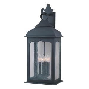 Henry Street - Four Light Outdoor Large Wall Lantern