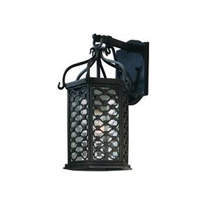 Los Olivos - One Light Outdoor Small Wall Lantern