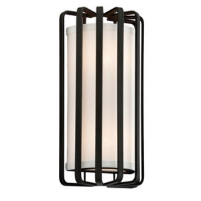 Troy Lighting B2811GR-L Drum - Two Light Wall Sconce