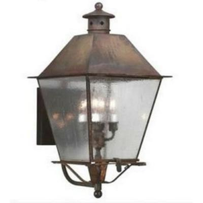 Troy Lighting B9137CI Montgomery - Four Light Outdoor Large Wall Lantern