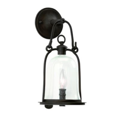 Troy Lighting B9461 Owings Mill - One Light Outdoor Small Wall Lantern