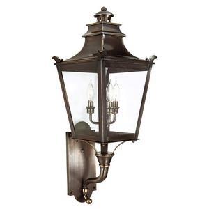 Dorchester - Three Light Outdoor Medium Wall Lantern