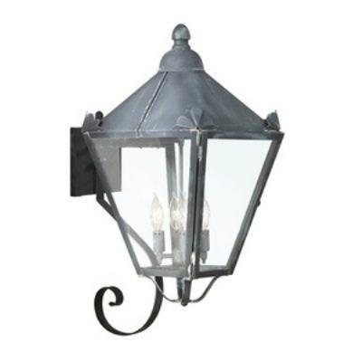 Troy Lighting BCD8946CI Preston - Four Light Outdoor Large Wall Lantern