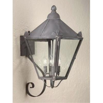 Troy Lighting BCD8946NR Preston - Four Light Outdoor Large Wall Lantern