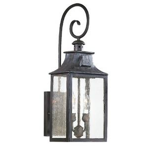 Newton - Two Light Outdoor Medium Wall Lantern