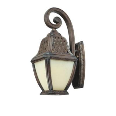 Troy Lighting BF2082BI Biscayne - One Light Outdoor Medium Wall Lantern