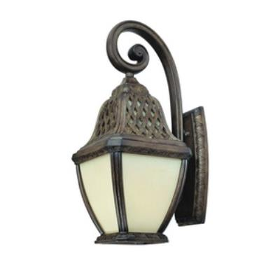Troy Lighting BF2083BI Biscayne - One Light Outdoor Large Wall Lantern