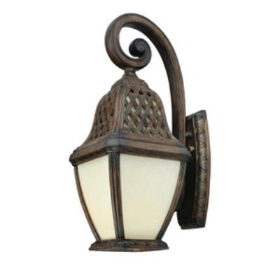 Troy Lighting BF2084BI Biscayne - One Light Outdoor Large Wall Lantern