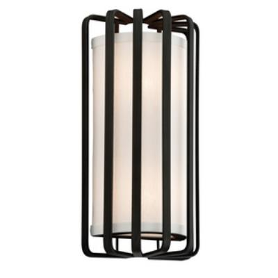 Troy Lighting BF2811BZ-L Drum - One Light Wall Sconce