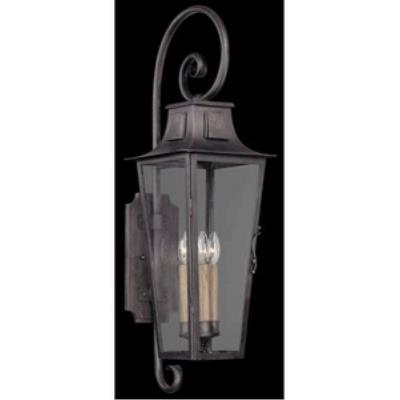 Troy Lighting BF2963 French Quarter - One Light Outdoor Large Wall Lantern