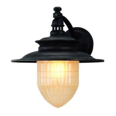 Troy Lighting BF5082SBZ Quincy - One Light Outdoor Medium Wall Lantern