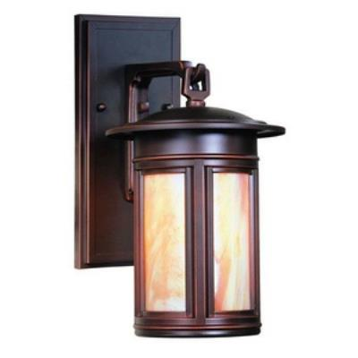 Troy Lighting BIH6910OB Highland Park - One Light Outdoor Small Wall Lantern