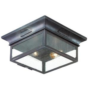 Newton - Two Light Outdoor Flush Mount