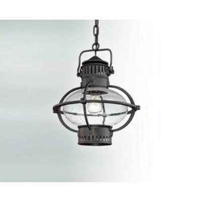 Troy Lighting F1878 Portsmouth - One Light Outdoor Large Hanging Lantern