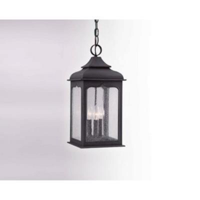Troy Lighting F2017 Henry Street - Three Light Outdoor Medium Hanging Lantern