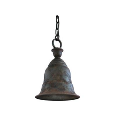 Troy Lighting F2367CR Liberty - One Light Outdoor Medium Pendant