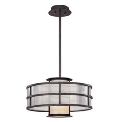Troy Lighting F2735 Discus - One Light Small Pendant