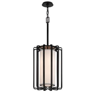 Troy Lighting F2813GR-I Drum - Two Light Small Pendant