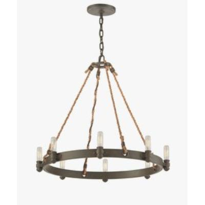 Troy Lighting F3125 Pike Place - Eight Light Medium Pendant
