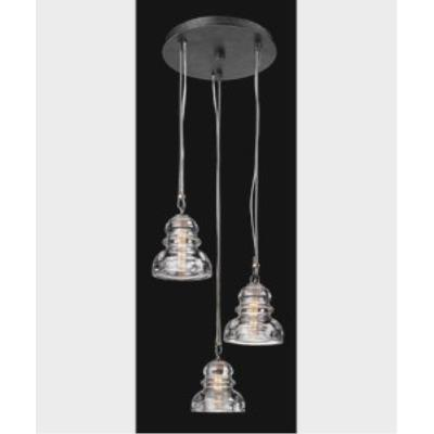Troy Lighting F3133 Menlo Park - Three Light Pendant