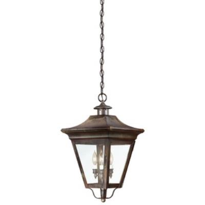 Troy Lighting F8935NR Oxford - Three Light Outdoor Large Pendant