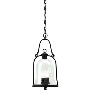Owings Mill - Three Light Outdoor Large Hanging Lantern