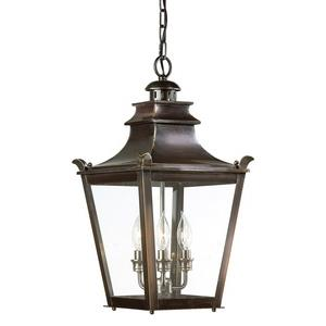 Dorchester - Three Light Outdoor Medium Hanging Lantern