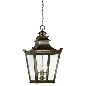 Dorchester - Four Light Outdoor Large Hanging Lantern